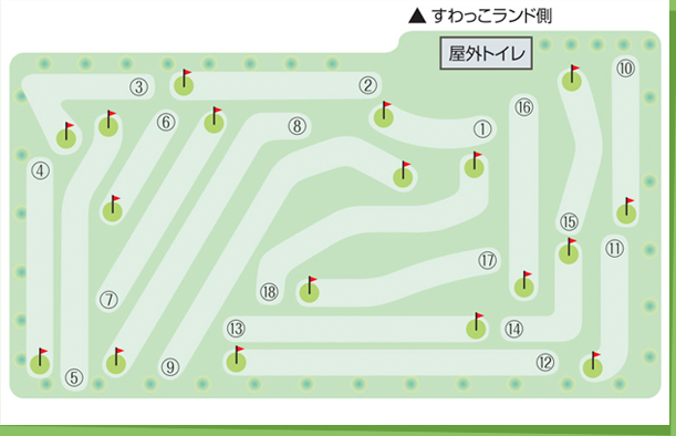 マレットゴルフコース図